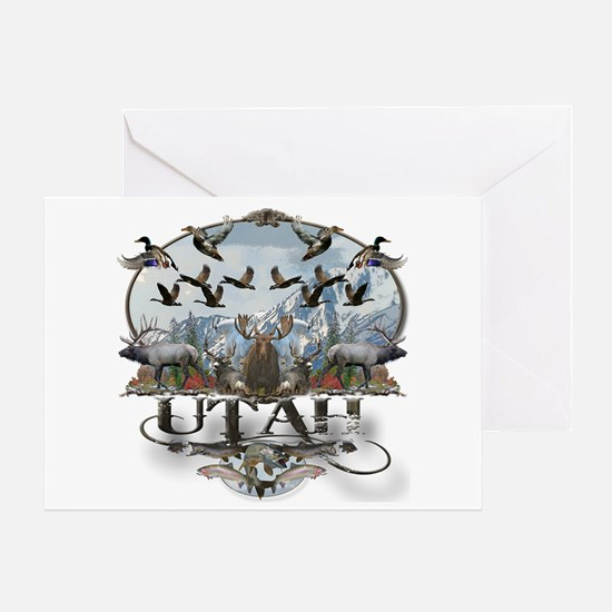 Utah outdoors Greeting Card