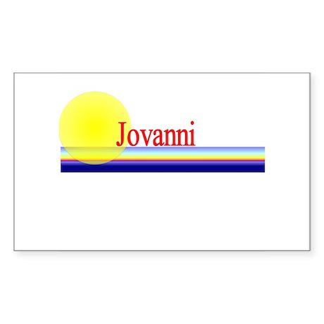Jovanni Rectangle Sticker