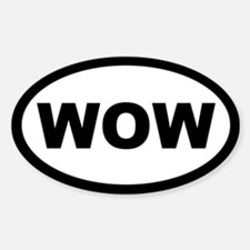 Euro WOW Decal