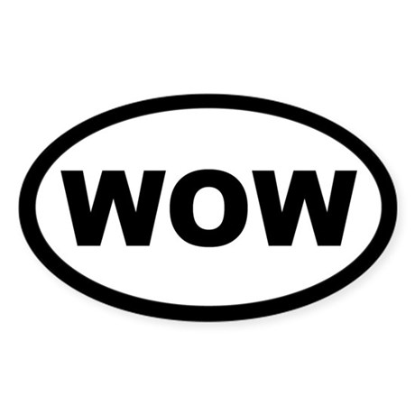Euro WOW Sticker