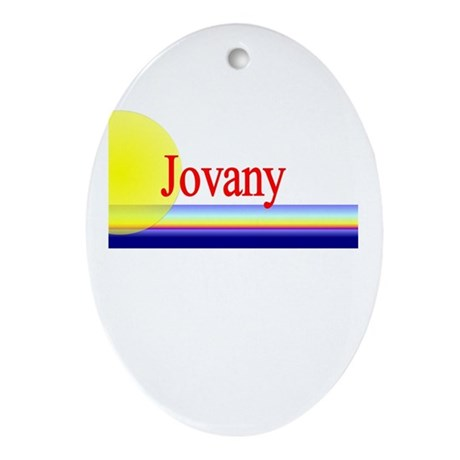 Jovany Oval Ornament