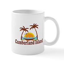 Cumberland Island GA - Palm Trees Design. Mug