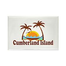 Cumberland Island GA - Palm Trees Design. Rectangl