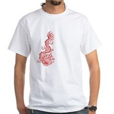 Chinese Red Dragon Graphic Shirt