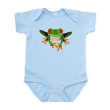Colorful Tree Frog Infant Bodysuit