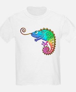 Cool Colored Chameleon T-Shirt