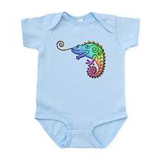 Cool Colored Chameleon Infant Bodysuit