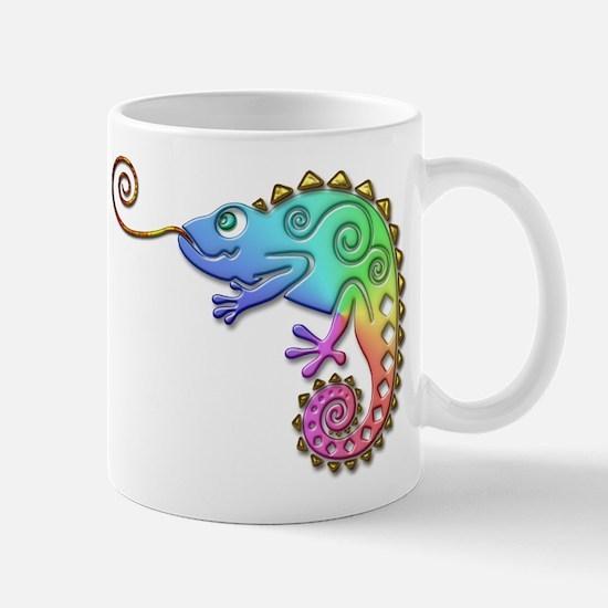 Cool Colored Chameleon Mug