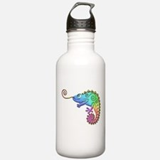 Cool Colored Chameleon Water Bottle