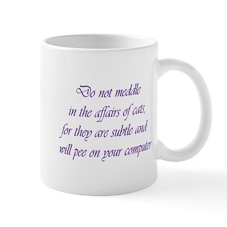 Do not meddle Mug