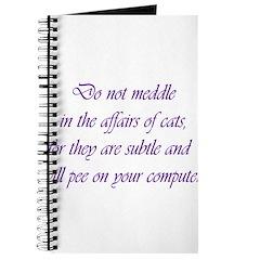 Do not meddle Journal