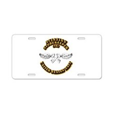 Navy - Rate - AK Aluminum License Plate