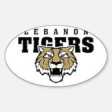 Cute Lebanon tigers Decal