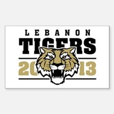Lebanon tigers Decal