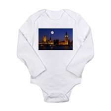 London Long Sleeve Infant Bodysuit