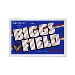 Biggs Field Texas Rectangle Magnet (10 pack)