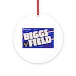 Biggs Field Texas Ornament (Round)