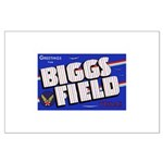 Biggs Field Texas Large Poster