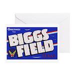 Biggs Field Texas Greeting Cards (Pk of 10)