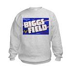 Biggs Field Texas (Front) Kids Sweatshirt
