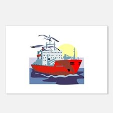 Boat Postcards (Package of 8)