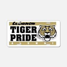 Funny Lebanon tigers Aluminum License Plate
