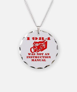 1984 Was Not A Manual Necklace
