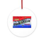 Camp Barkeley Texas Ornament (Round)