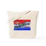 Camp Barkeley Texas Tote Bag