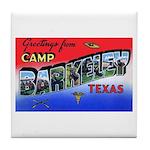 Camp Barkeley Texas Tile Coaster
