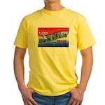 Camp Barkeley Texas Yellow T-Shirt
