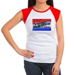 Camp Barkeley Texas Women's Cap Sleeve T-Shirt