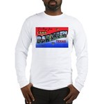 Camp Barkeley Texas (Front) Long Sleeve T-Shirt