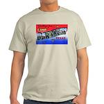 Camp Barkeley Texas (Front) Ash Grey T-Shirt