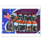 Camp Howze Texas Small Poster