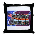 Camp Howze Texas Throw Pillow
