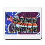 Camp Howze Texas Mousepad