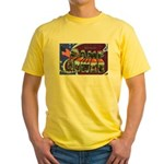 Camp Howze Texas Yellow T-Shirt