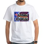 Camp Howze Texas (Front) White T-Shirt