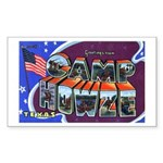 Camp Howze Texas Rectangle Sticker