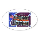 Camp Howze Texas Oval Sticker