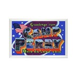 Camp Perry Ohio Rectangle Magnet (10 pack)