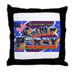 Camp Perry Ohio Throw Pillow