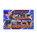 Camp Perry Ohio Postcards (Package of 8)