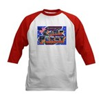 Camp Perry Ohio (Front) Kids Baseball Jersey