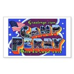 Camp Perry Ohio Rectangle Sticker
