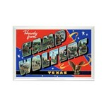 Camp Wolters Texas Rectangle Magnet