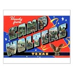 Camp Wolters Texas Small Poster