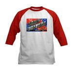 Camp Wolters Texas (Front) Kids Baseball Jersey