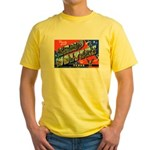 Camp Wolters Texas Yellow T-Shirt